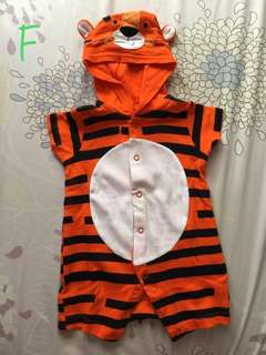 REPRICED : Mothercare Tiger Onesie / Costume