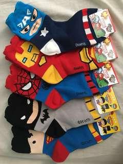 Marvel/Justice League Socks