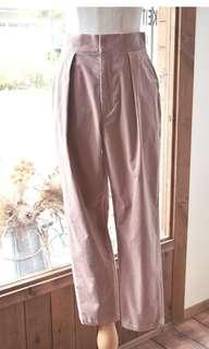 日本製全新正品貴牌Nesessaire粉紅色長褲