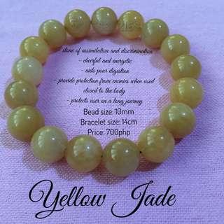 Gemstones Bracelets - Yellow Jade