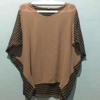 Lurik Shirt / Stripes Blouse Shirt