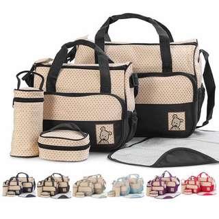 5in1 Diaper Bag Set (FREE POST)