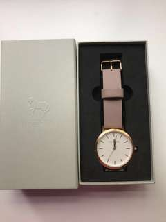The horse - Nude band and rose gold face BNIB
