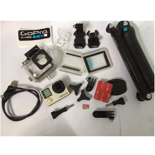 GoPro HERO4 Silver + GoPro 3-way