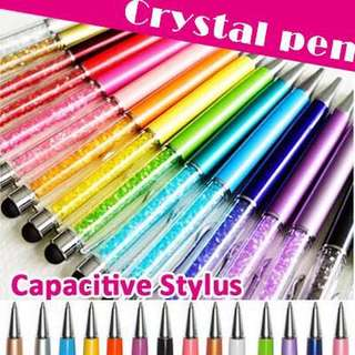 👣 PREMIUM QUALITY CRYSTAL PEN