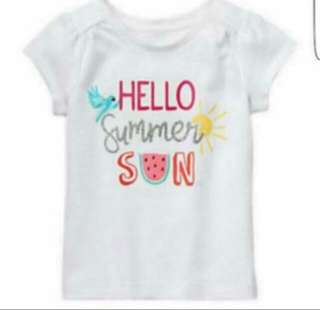 *SALE* Brand New Gymboree T-shirt For Baby Girl (18M)