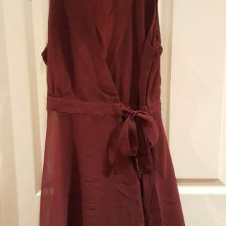 ***MOVING SALE*** Maroon Dress