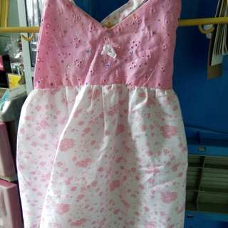 Rosy Pink Dress floral