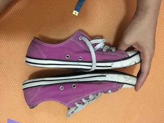 Authentic Converse slim low cut