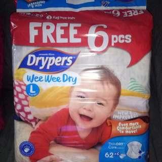 Drypers Wee Wee Dry Size L
