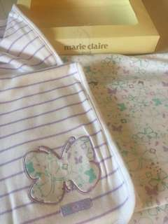 BN Marie Claire butterfly baby wrap
