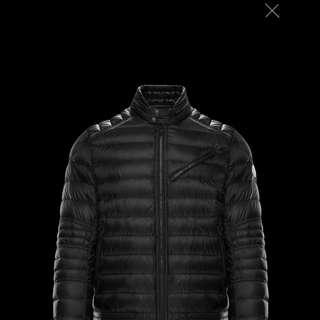 Moncler 羽絨 biker jacket
