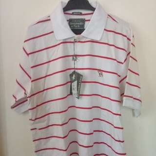 Abercrombie & Fitch polo shirt white