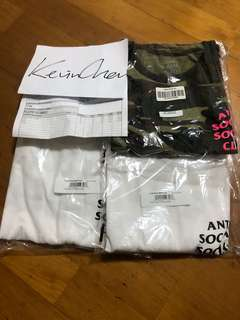 ASSC 基本款 短袖T恤