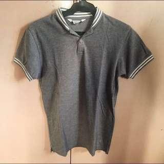 Folded&Hung Gray Polo Shirt (S)