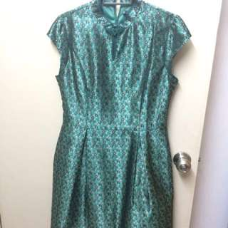 Mandarin oriented dress - L size