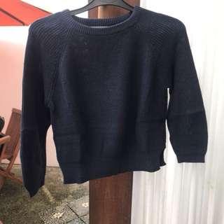 SALE!! Crop Top Sweater (Cotton Ink)