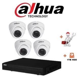 DAHUA CCTV Package 4