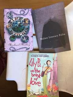 Fiction book set