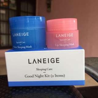 Laneige Good Night Kit (2 item)