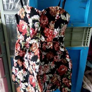 Fit and flare skater party Floral dress