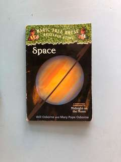 Space, by Magic Tree House