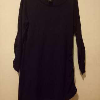 Violet long sleeve dress