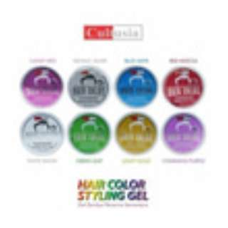 CULTUSIA POMADE Warna Hair Color Styling Gel 80ml