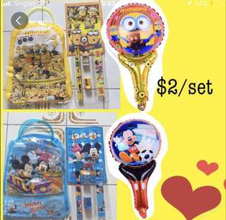🎉BALLOON PACKAGE- GOODIE BAG WITH BALLOON SET ($2)