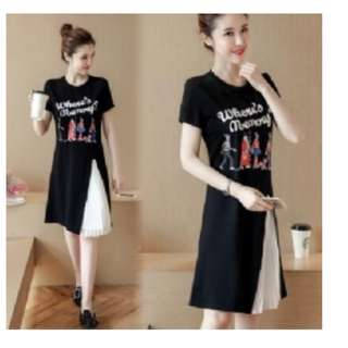 預購YF60441 T恤裙