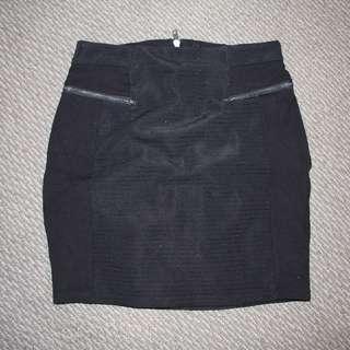 Black Forever New skirt, Size Small