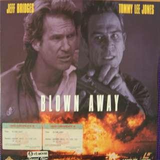 Laser Disc Movie --- M30   Blown Away