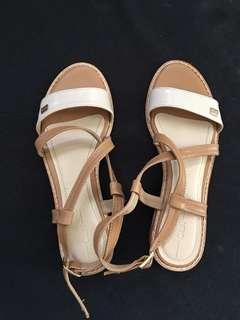 Cln nude sandals