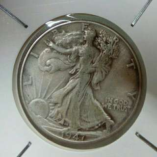 1947年美國半圓銀幣