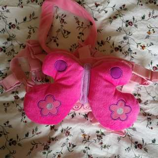 Butterfly pink harness