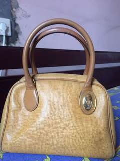 Leather Bag Christian Dior