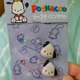 pochacco pc狗 sanrio全新扣針