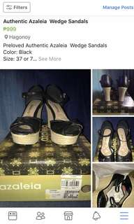 Preloved Authentic Azeleia Wedge Shoes
