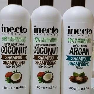 New Inecto Shampoo, hair oil, hair treatment and hair serum