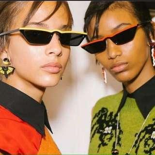 Listed sunglasses