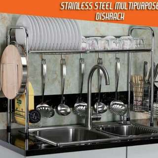 Stainless Steel MultiPurpose DishRack
