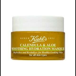 Kiehls Calendula & Aloe Soothing Hydration Masque 14ml