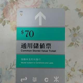 地鐵儲值車票
