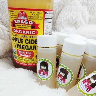 Cuka apel brag organik 60 ml pure