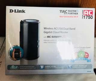 D-Link AC1750 router brand new