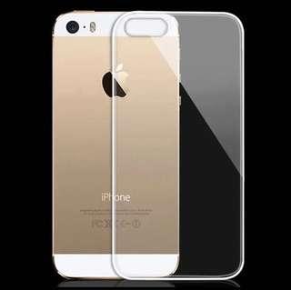 (包郵)Iphone 5 / 5S / 5SE手機透明軟殼