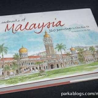 Landmarks of Malaysia: 360 Paintings