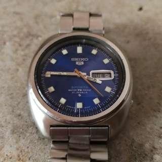 Seiko Vintage 6119 Watch