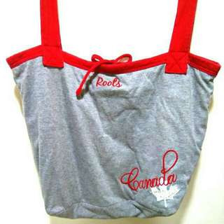 Roots Canada Fabric Tote Bag