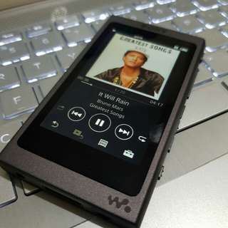 Sony nw-a45 black